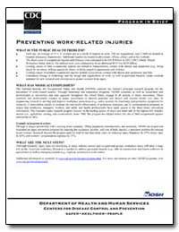 Preventing Work-Related Injuries by Department of Health and Human Services