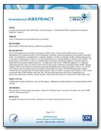 Breakout Abstract by Department of Health and Human Services