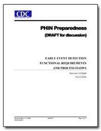 Phin Preparedness (Draft for Discussion)... by Department of Health and Human Services