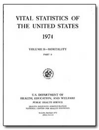 Vital Statistics of the United States 19... by Rice, Dorothy P.