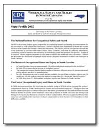 Workplace Safety and Health in North Car... by Department of Health and Human Services