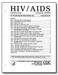 Hiv/Aids Surveillance by Department of Health and Human Services