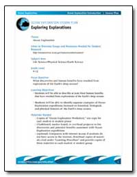 Ocean Exploration Lesson Plan Exploring ... by