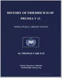 First Silesian War, Leaving the General ... by Carlyle, Thomas