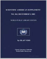 Scientific American Supplement, No. 362,... by Various