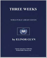 Three Weeks by Glyn, Elinor