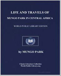 Life and Travels of Mungo Park in Centra... by Park, Mungo