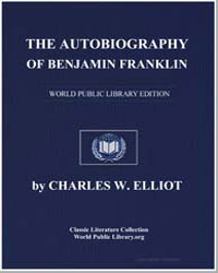 The Autobiography of Benjamin Franklin by