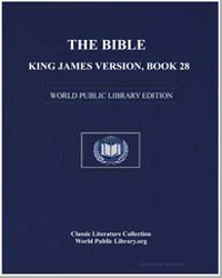 The Bible, King James Version, Book 28 :... by