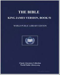 The Bible, King James Version, Book 51 :... by