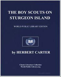 The, Boy Scouts on Sturgeon Island or Ma... by Carter, Herbert