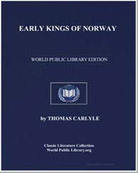 Early Kings of Norway by Carlyle, Thomas