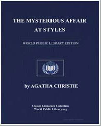 The Mysterious Affair at Styles by Christie, Agatha