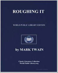 Roughing It by Twain, Mark