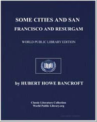 Some Cities and San Francisco by Bancroft, Hubert Howe