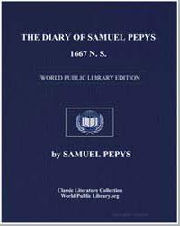 Diary of Samuel Pepys, 1667 N. S. Comple... by Pepys, Samuel