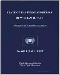 State of the Union Addresses of William ... by Taft, William Howard