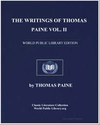 The Writings of Thomas Paine Volume Ii by Paine, Thomas