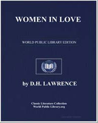 Women in Love by Lawrence, David Herbert