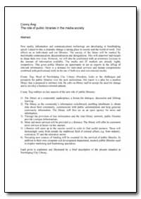 The Role of Public Libraries in the Medi... by Ang, Conny