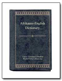 Afrikaans to English Dictionary by World Public Library