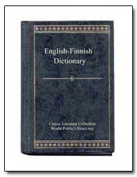 English to Finnish Dictionary by World Public Library