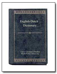 English to Dutch Dictionary by World Public Library
