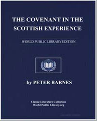 The Covenant in the Scottish Experience by Barnes, Peter, Dr.
