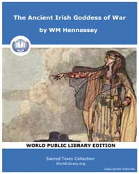 The Ancient Irish Goddess of War Volume Vol. 1 by Hennessey, WM