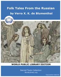 Folk Tales From the Russian by de Blumenthal, Verra X. K.