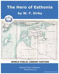 The Hero of Esthonia Volume Vol. I by Kir, W. F.