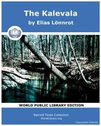 The Kalevala by Lönnrot, Elias
