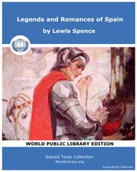 Legends and Romances of Spain by Spence, Lewis
