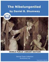 The Nibelungenlied by Shumway, Daniel B.