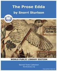 The Prose Edda by Sturlson, Snorri