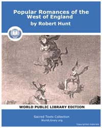 Popular Romances of the West of England by Hunt, Robert