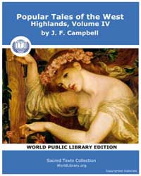 Popular Tales of the West Highlands, Vol... by Campbell, J. F.