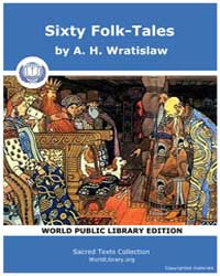 Sixty Folk-tales by Wratislaw, A. H.