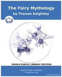 The Fairy Mythology by Keightley, Thomas