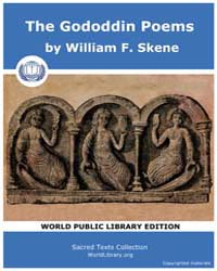 The Gododdin Poems by Skene, William F.