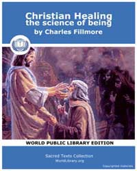 Christian Healing the science of being by Fillmore, Charles