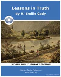 Lessons in Truth by Cady, H. Emilie