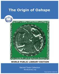 The Origin of Oahspe by