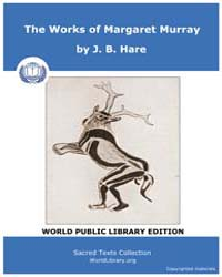 The Works of Margaret Murray by Hare, J. B.