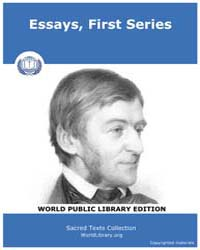 Essays, First Series by Various