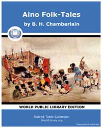 Aino Folk-Tales by Chamberlain, B. H.