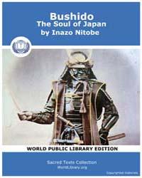 Bushido, The Soul of Japan by Nitobe, Inazo