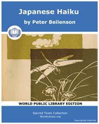 Japanese Haiku by Beilenson, Peter