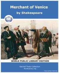 Merchant of Venice by Shakespeare