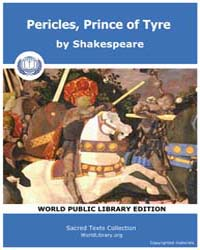 Pericles, Prince of Tyre by Shakespeare